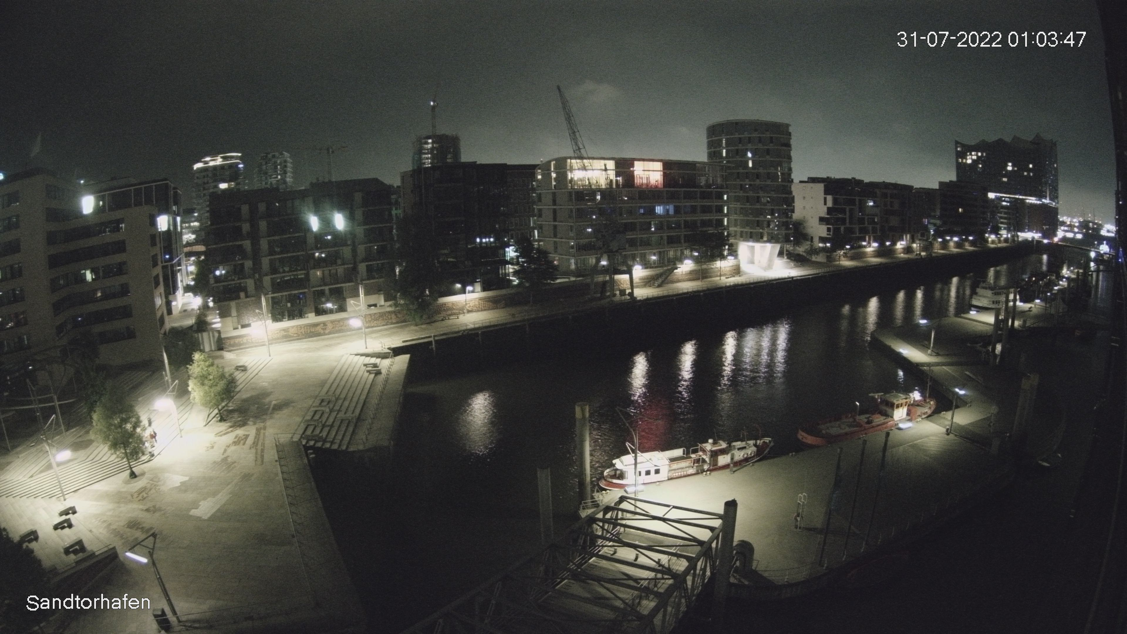 www.harbour-hall.de - Webcam