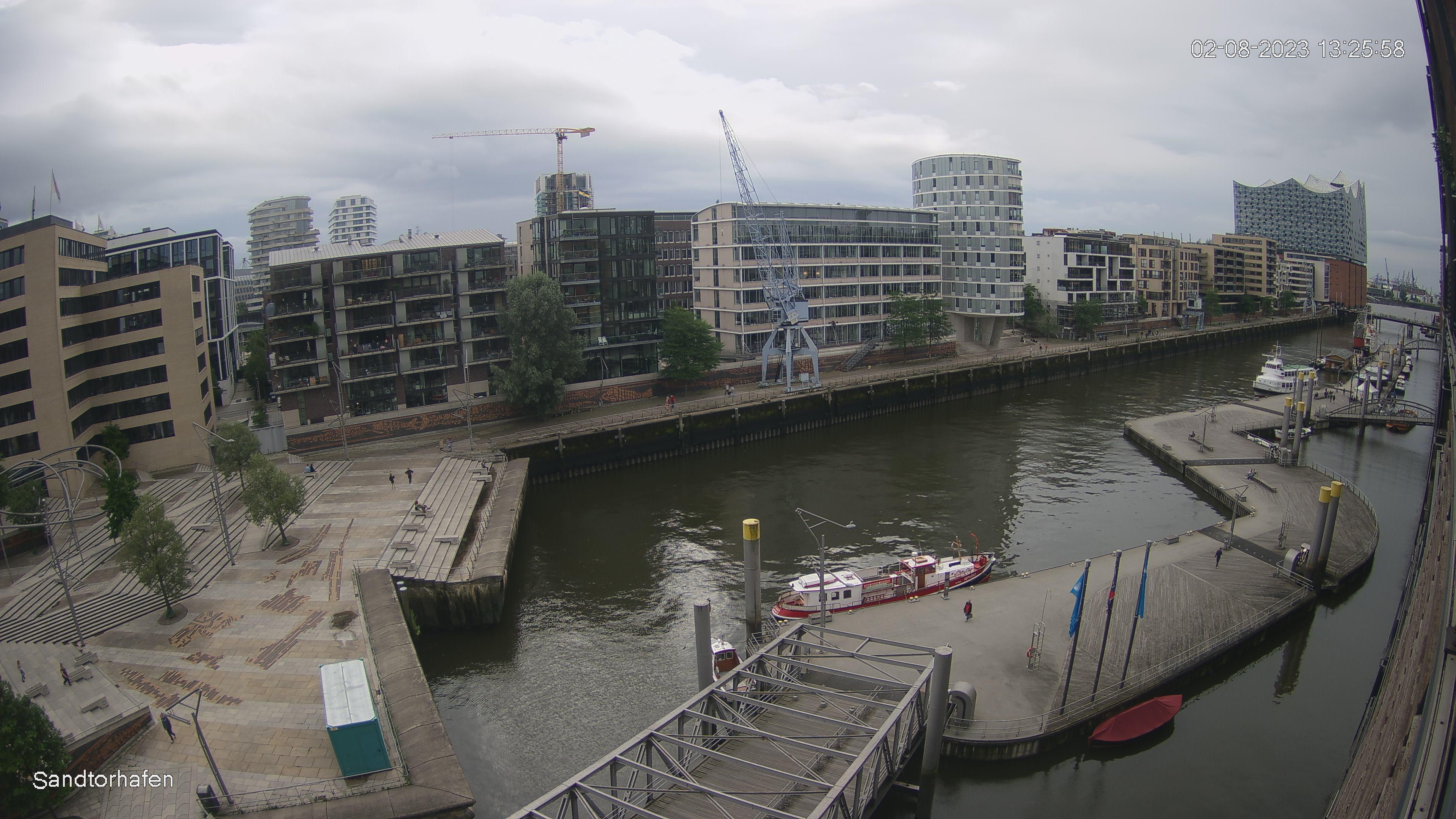 Hamburg Sandtorhafen